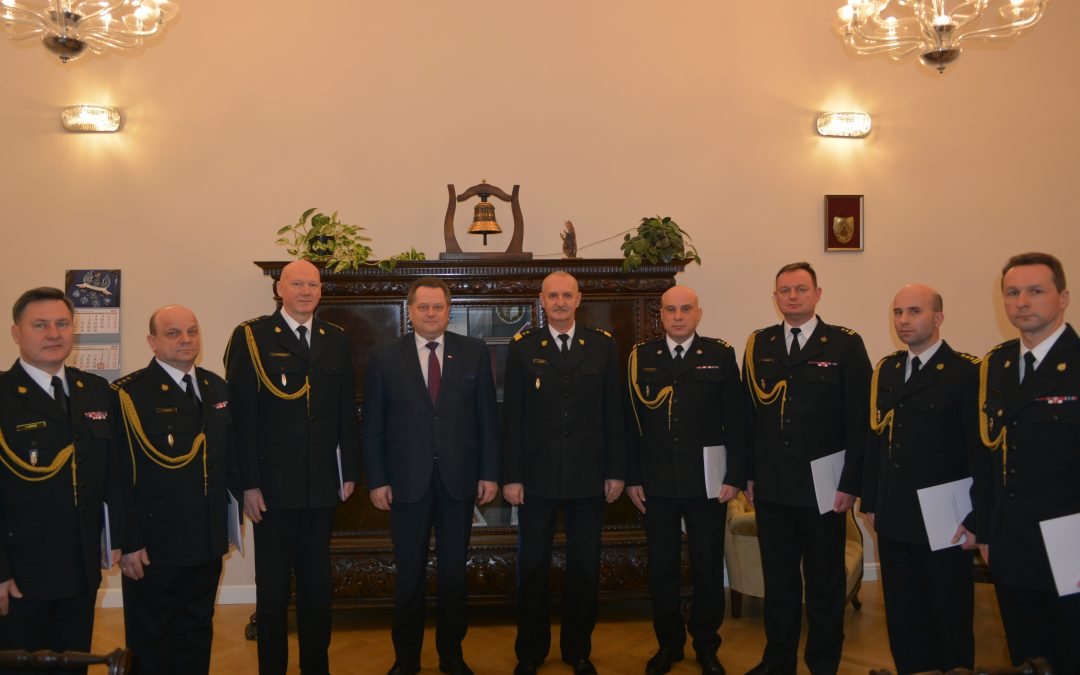 Akty powołania na stanowiska służbowe w Państwowej Straży Pożarnej