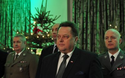 Spotkanie wigilijne służb podległych MSWiA w Warszawie