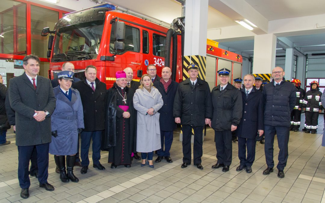 Nowy wóz bojowy dla strażaków z Kalisza