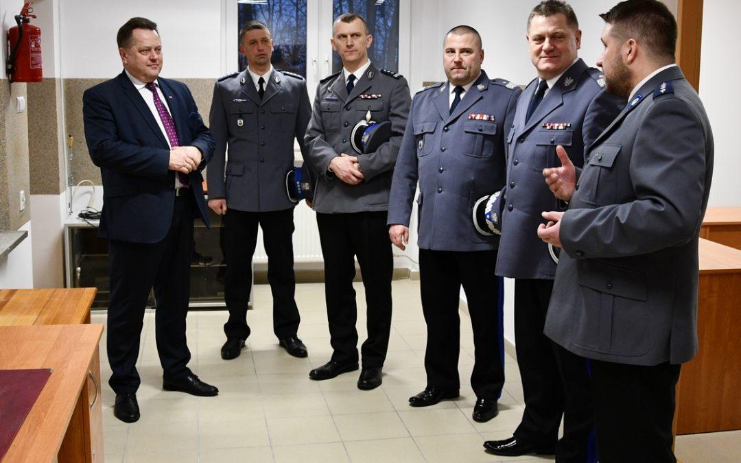 Posterunek Policji w Supraślu zmodernizowany
