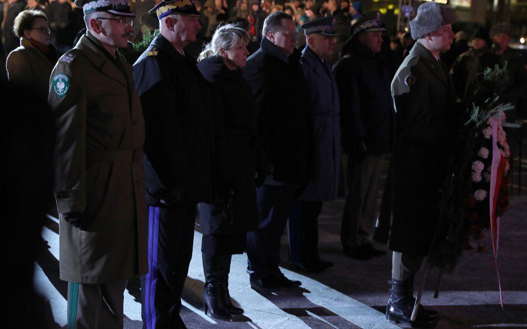 Obchody Narodowego Dnia Pamięci Żołnierzy Wyklętych w Warszawie