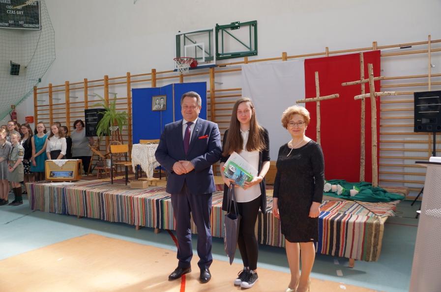 Finał konkursu historycznego w Szkole Podstawowej w Trzciannem