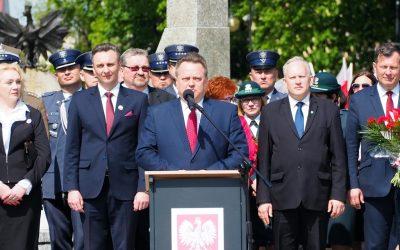 Obchody 227. rocznicy uchwalenia Konstytucji 3 Maja w Augustowie