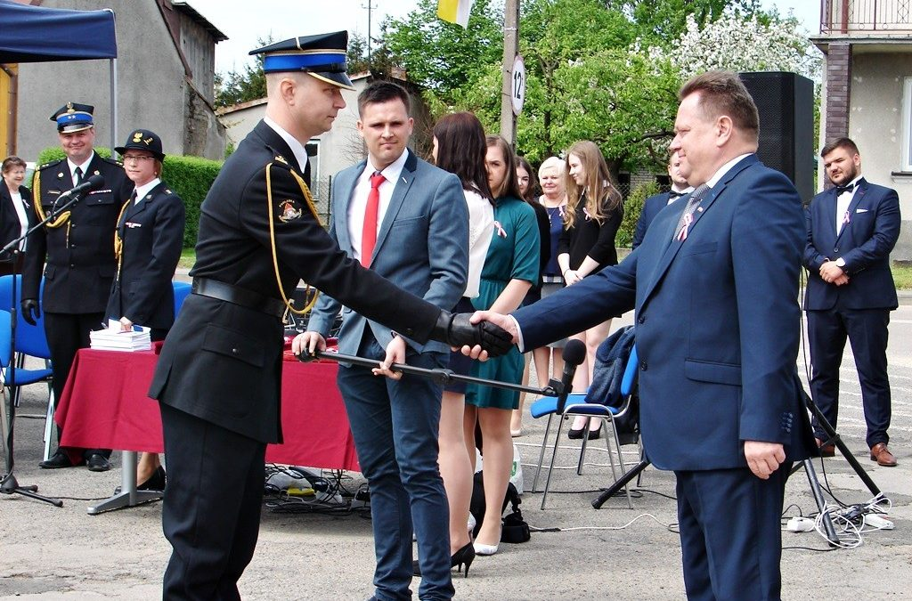 Wojewódzkie Obchody Dnia Flagi RP oraz Dnia Strażaka w Sokołach