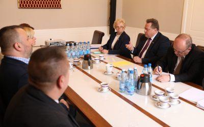 Spotkanie z przedstawicielami NSZZ Pracowników Policji