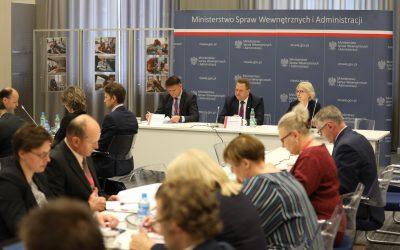 Posiedzenie komitetów sterujących projektów przeciwpowodziowych