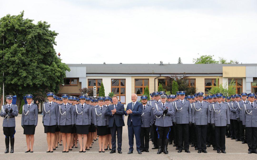 Promocja oficerska w Wyższej Szkole Policji w Szczytnie
