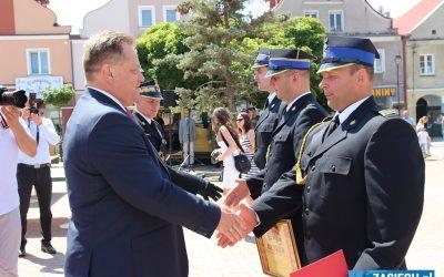 Powiatowe obchody Dnia Strażaka w Łomży