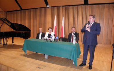 Spotkanie z minister Anną Zalewską w Suwałkach