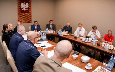 Posiedzenie Rady do spraw Ratownictwa w MSWiA