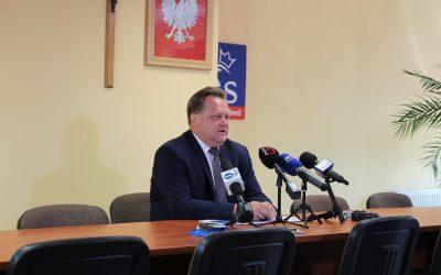 """""""Plan dla wsi"""" – konferencja prasowa w Suwałkach"""