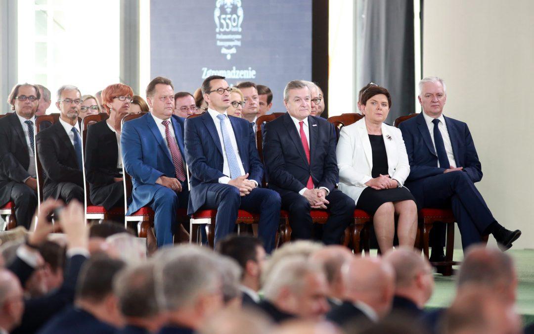 Zgromadzenie Narodowe uczciło 550 lat Parlamentaryzmu Rzeczypospolitej