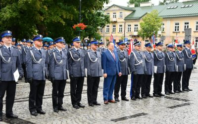 Obchody Święta Policji w Suwałkach