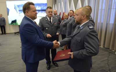Spotkanie z policjantami zabezpieczającymi mundial w Rosji