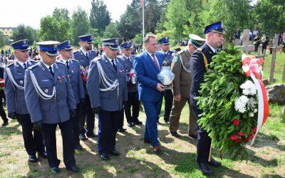 Obchody 73. rocznicy Ofiar Obławy Augustowskiej w Gibach