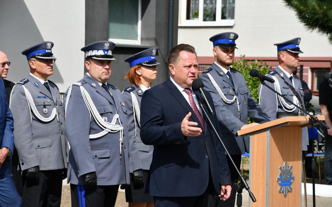 Otwarcie zmodernizowanego posterunku Policji w Suchowoli