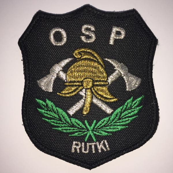Podziękowanie jednostki OSP w Rutkach Starych