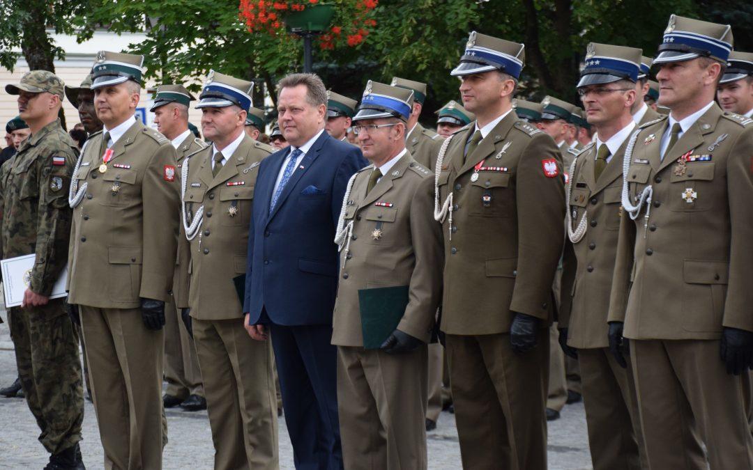List z okazji Święta Wojska Polskiego