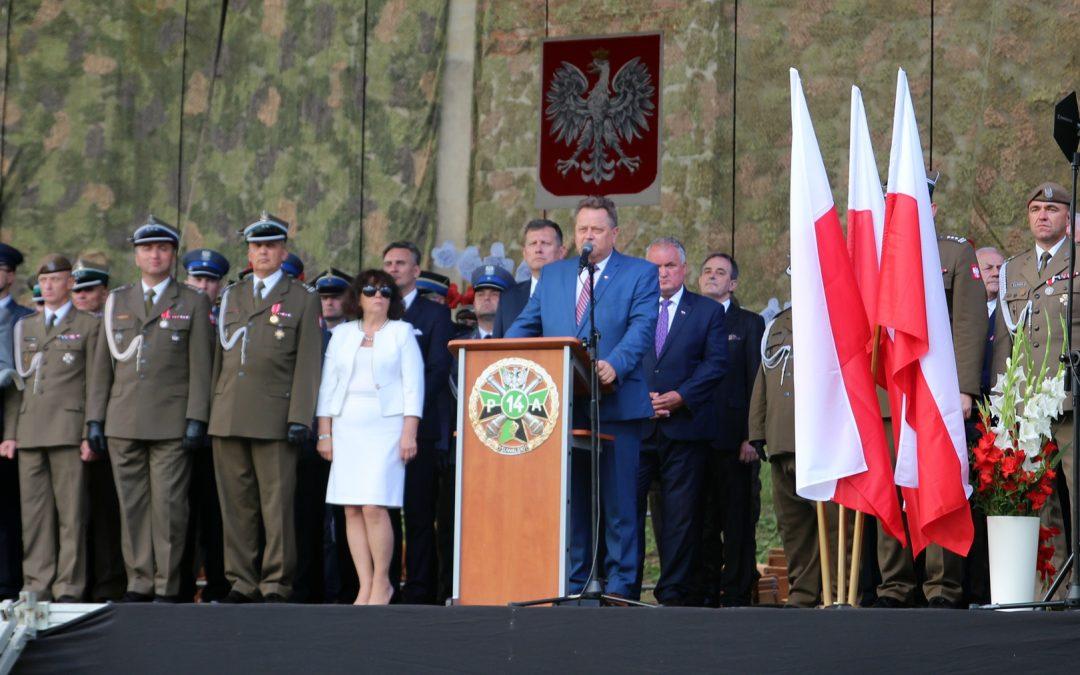 Regionalne Obchody Święta Wojska Polskiego w Wigrach