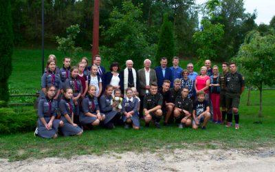 Spotkanie z harcerzami w Białej Wodzie