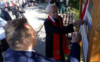 """Otwarcie Ścieżki Edukacyjnej """"Śladami Ofiar Obławy Augustowskiej"""""""