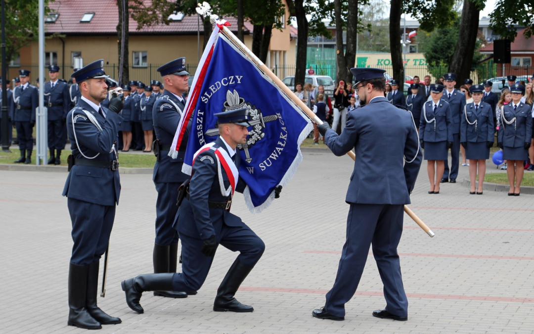 Nadanie sztandaru Aresztowi Śledczemu w Suwałkach