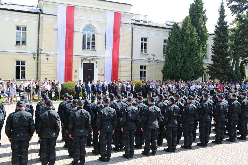 Ślubowanie funkcjonariuszy Straży Marszałkowskiej