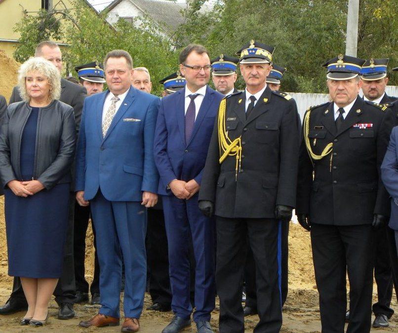 Powstaje nowy budynek Komendy Powiatowej PSP w Węgrowie