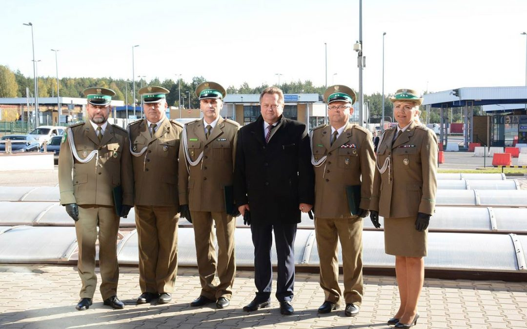 Placówka SG w Kuźnicy otrzymała imię 2. Pułku Strzelców Podhalańskich
