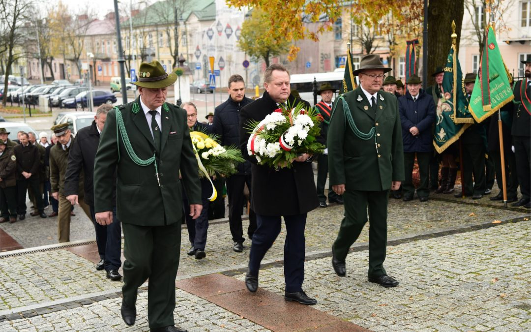 Jubileusz 95-lecia Polskiego Związku Łowieckiego w Suwałkach