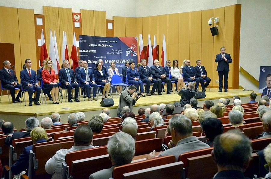 Wizyta Premier Beaty Szydło w Suwałkach