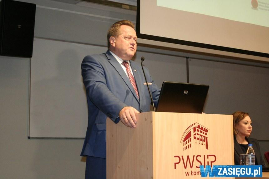 Wizyta Ministra Środowiska Henryka Kowalczyka w Łomży
