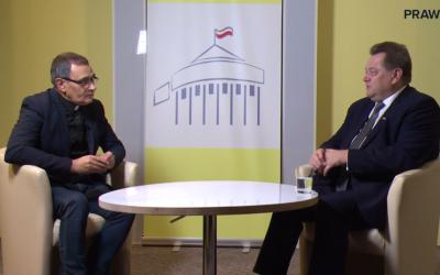 Wywiad dla portalu Prawy.pl