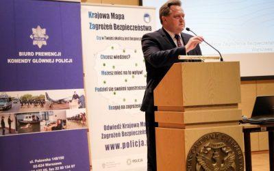 Konferencja poświęcona Krajowej Mapie Zagrożeń Bezpieczeństwa