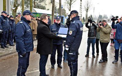 Otwarcie posterunku Policji w Wiźnie