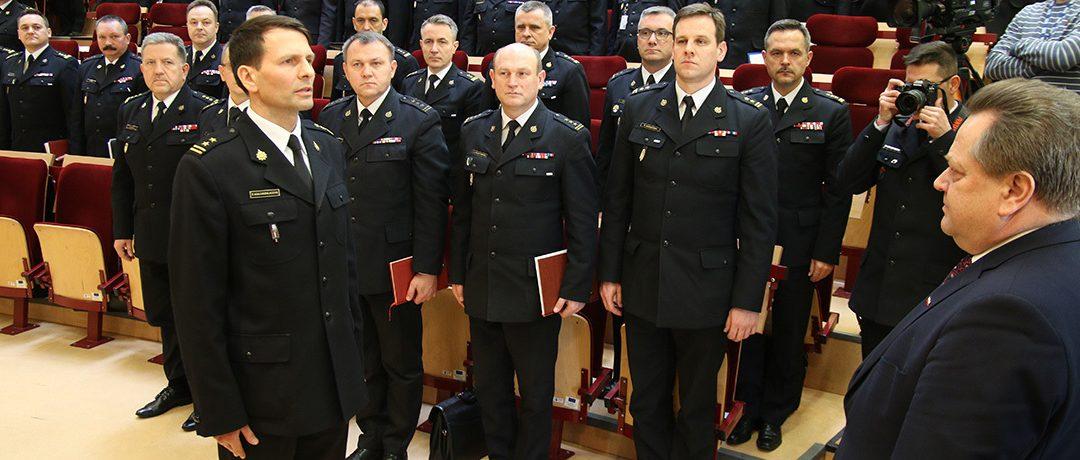 Odprawa roczna kadry kierowniczej Państwowej Straży Pożarnej