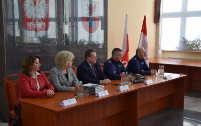 Odprawa w Komendzie Powiatowej Policji w Węgrowie