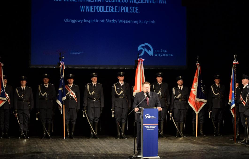 Gala z okazji 100-lecia polskiego więziennictwa
