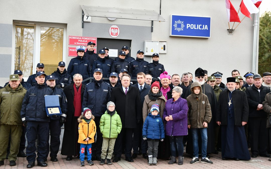 Otwarcie posterunku Policji w Mielniku