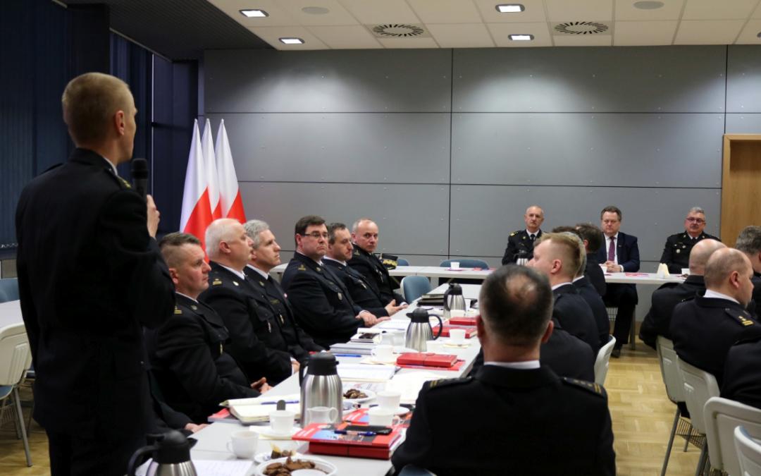 Spotkanie z kadrą kierowniczą PSP województwa małopolskiego