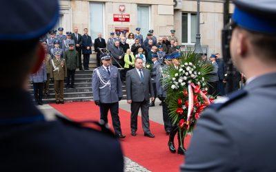 Hołd policjantom pomordowanym na Wschodzie