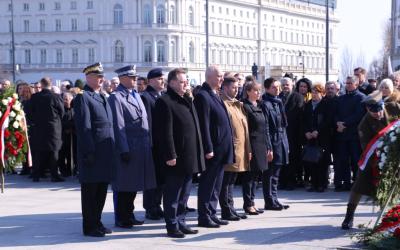 Centralne obchody 9. rocznicy Katastrofy Smoleńskiej w Warszawie