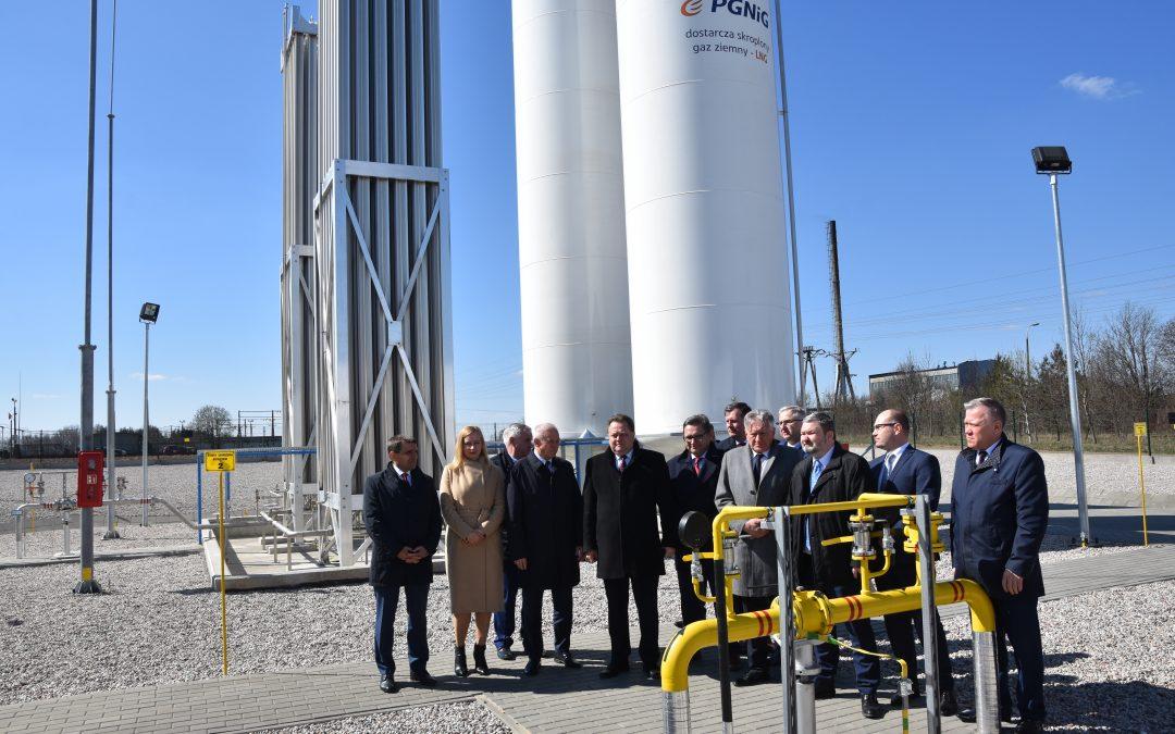 Otwarcie stacji regazyfikacji skroplonego gazu LNG w Mońkach