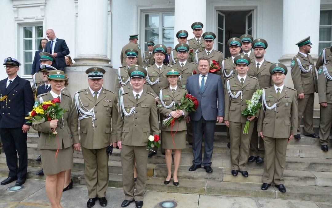 Centralne obchody Święta Straży Granicznej w Warszawie