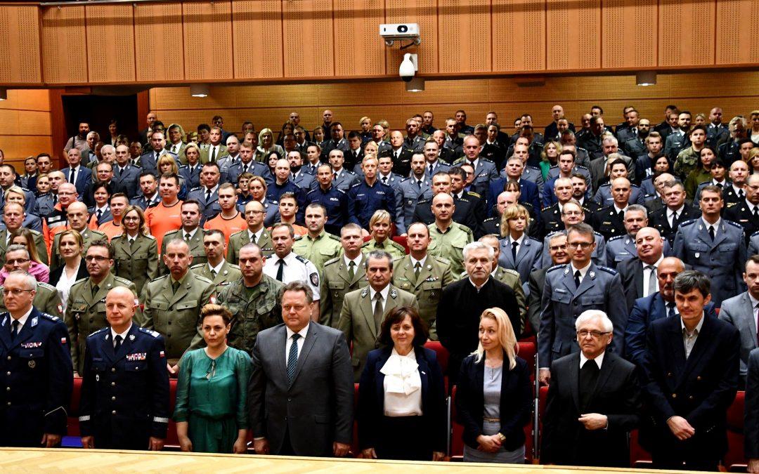 """Konferencja """"Policja Państwowa – inspiracja i wzór w służbie państwu i jego obywatelom"""""""