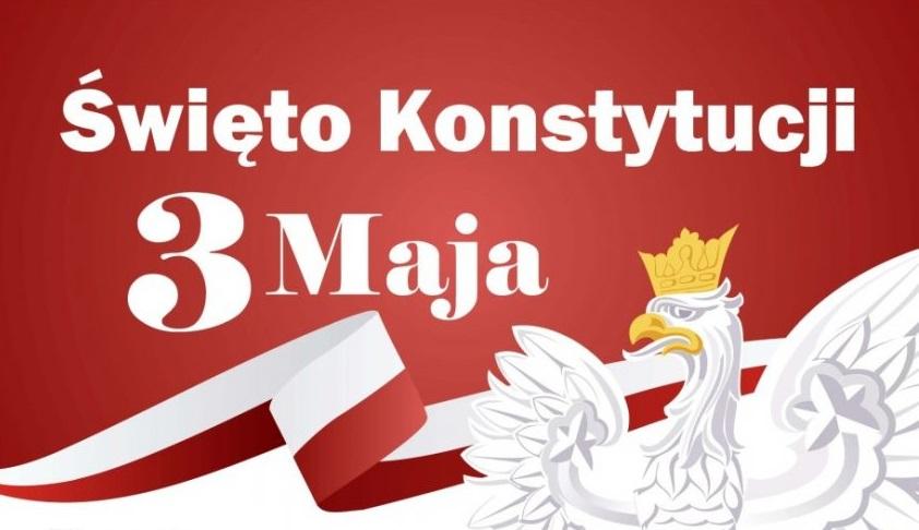 List z okazji Święta Narodowego Konstytucji 3 Maja