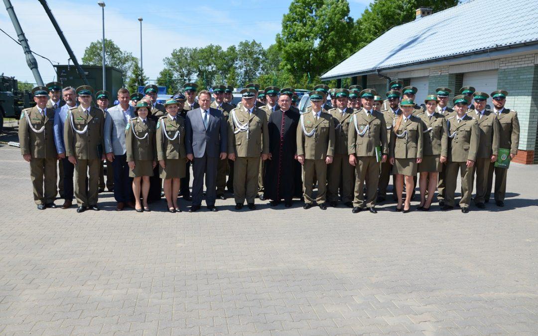 Wizyta w Placówkach Straży Granicznej w Lipsku i Nowym Dworze