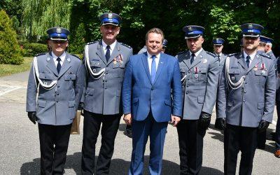 Regionalne obchody Święta Policji w Hajnówce