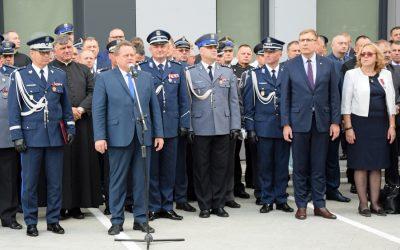 Święto Policji i otwarcie nowego budynku Komendy Powiatowej w Sochaczewie