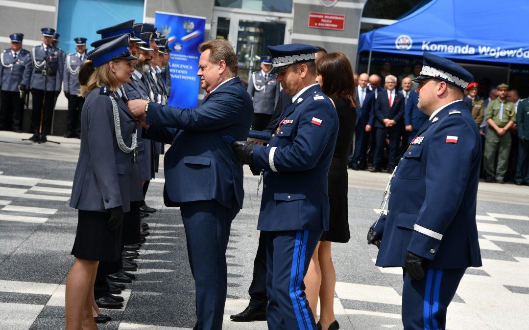 Obchody 100. rocznicy utworzenia Policji Państwowej w Białymstoku